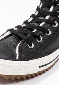 Converse - HIKER BOOT - Sneakers hoog - black/egret - 5