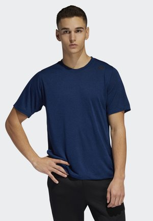 FREELIFT TECH CLIMACOOL FITTED T-SHIRT - T-shirt med print - blue