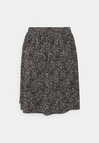 ONLY - ONLTAMMIE SHORT PLISSE SKIRT - Minijupe - black/white - 5