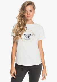 Roxy - Print T-shirt - snow white - 0