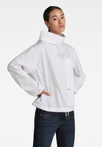 G-Star - LONG SLEEVE MOCL NECK SHIRT - Long sleeved top - white - 2