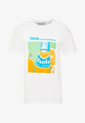 JORFANTA  - T-shirt con stampa - white