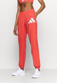 adidas Performance - BOS PANT - Pantaloni sportivi - crered/white - 0