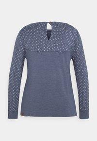 Ragwear Plus - MALITA PLUS - Topper langermet - blue - 1