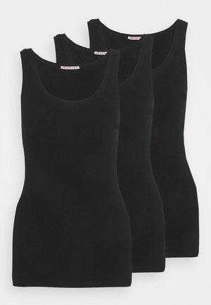 3 PACK - Linne - black/black/black
