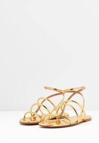 Pura Lopez - Sandals - mirror gold - 4