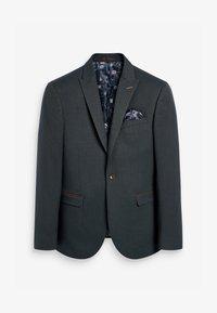 Next - HERRINGBONE - Suit jacket - grey - 5