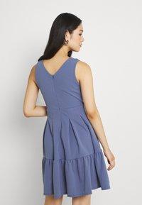WAL G. - NICOLA SKATER DRESS - Jersey dress - indigo blue - 2