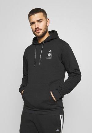 DFB DEUTSCHLAND HOODY - National team wear - black