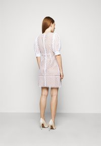 MICHAEL Michael Kors - GEO EYELET MINI DRESS - Day dress - white - 2