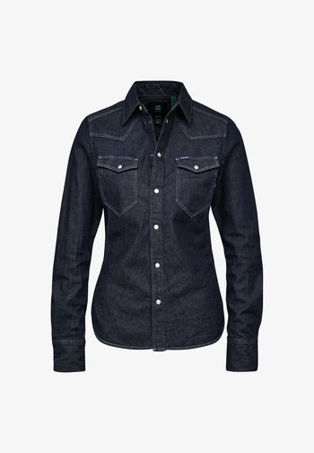 WESTERN KICK DENIM SLIM LONG SLEEVE
