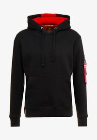 Alpha Industries - HOODY - Hoodie - black - 4