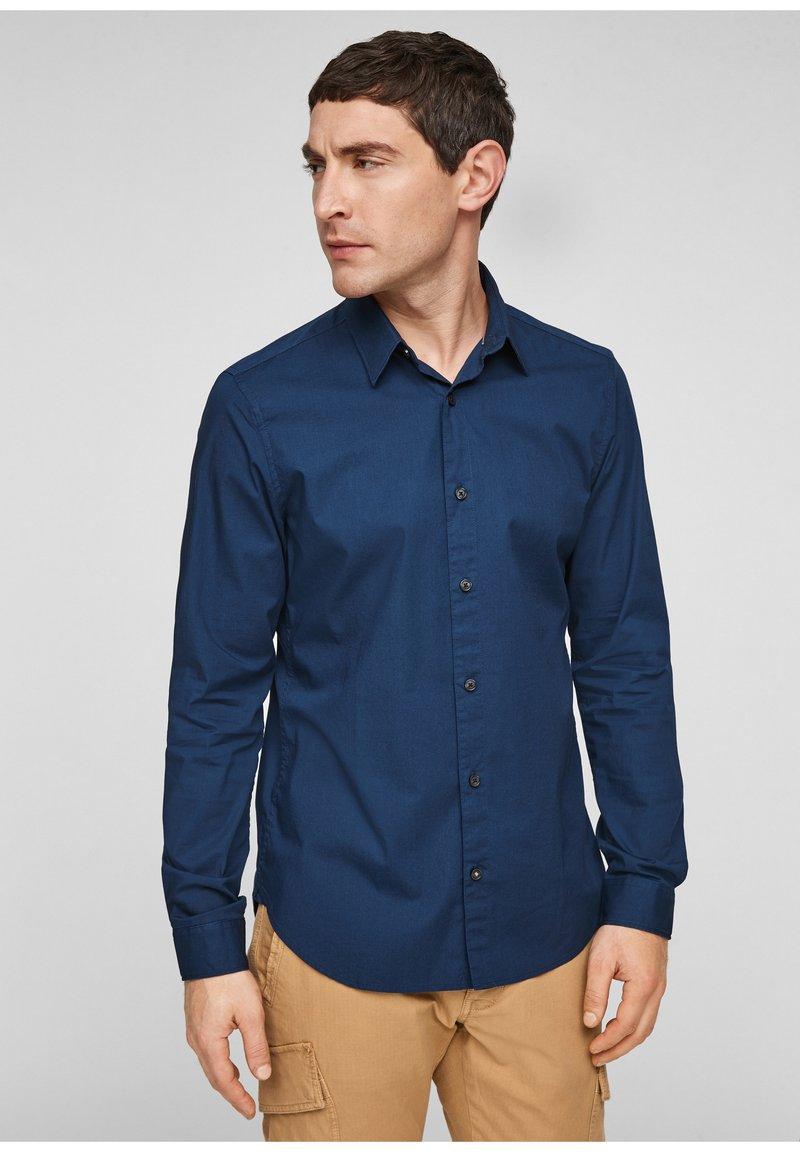 s.Oliver - Formal shirt - blue