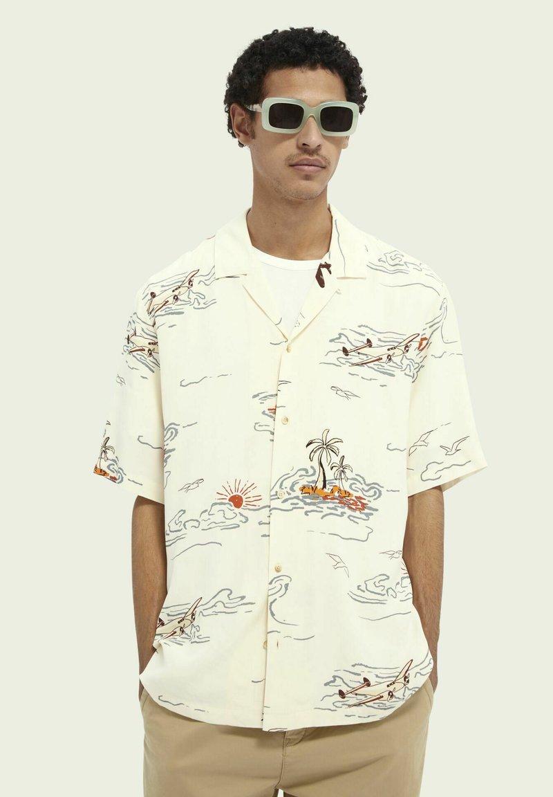 Scotch & Soda - HAWAIIAN  - Shirt - white