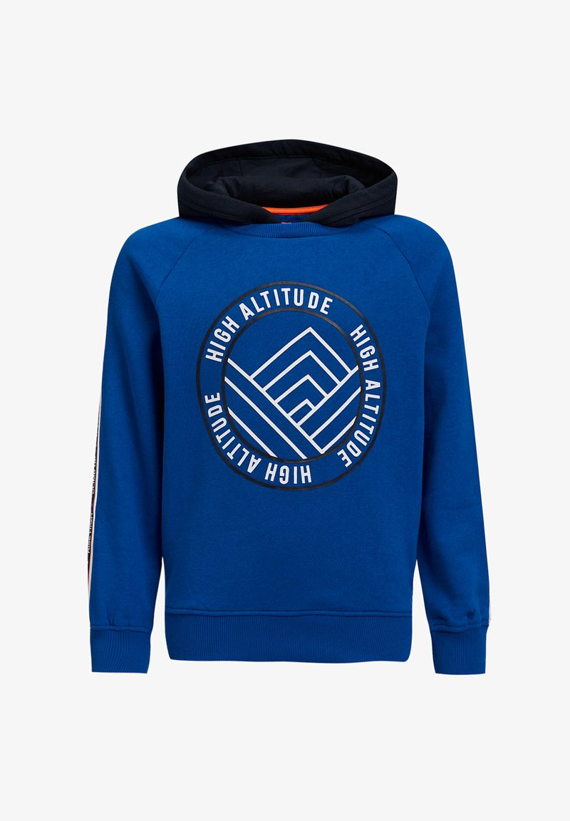 WE Fashion - MET TAPE - Hoodie - cobalt blue