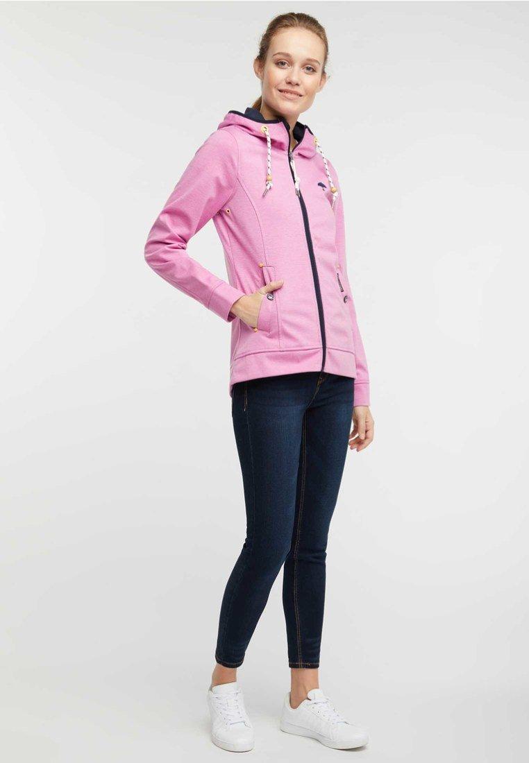 Schmuddelwedda ANORAK - Waterproof jacket - pink melange