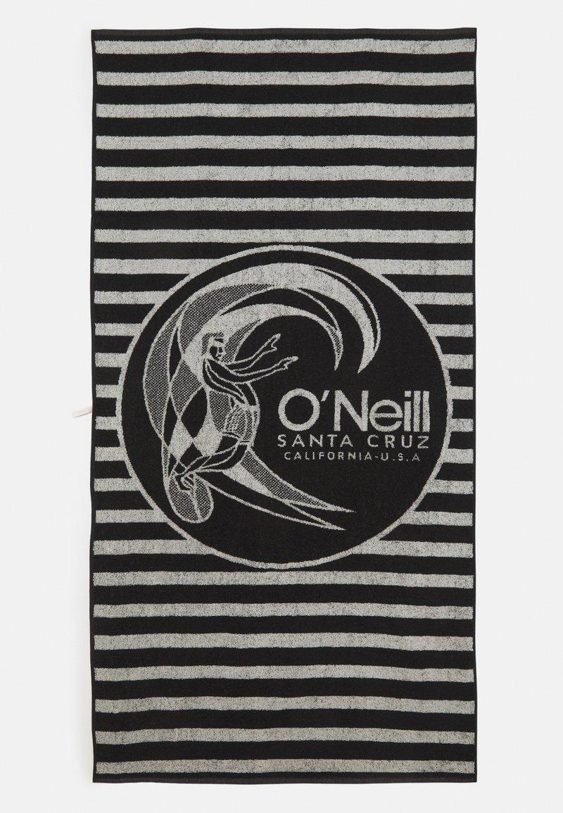 O'Neill - LOGO TOWEL - Telo da bagno - black out