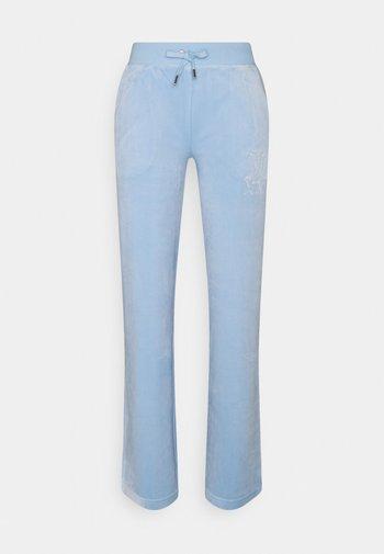 NUMERAL DEL RAY PANTS - Joggebukse - powder blue