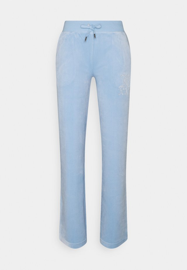 NUMERAL TRACK PANTS - Trainingsbroek - powder blue