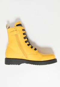 Tommy Hilfiger - Lace-up ankle boots - yellow - 1