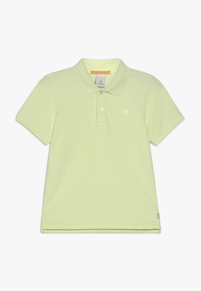 Scotch & Soda - GARMENT DYED - Poloshirt - lemonade