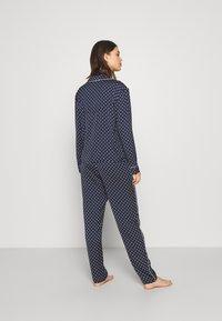 Marks & Spencer London - SPOT REVERE - Pyjama - navy - 2