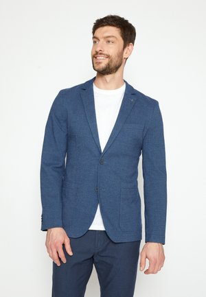 DOBBY - Suit jacket - blue
