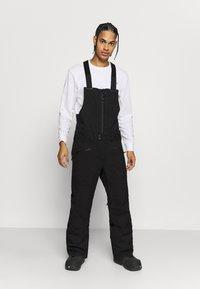 Burton - RESERVE BIB - Snow pants - true black - 0