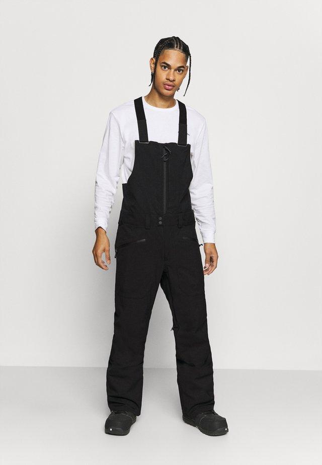 RESERVE BIB TRUE BLACK - Pantalon de ski - true black
