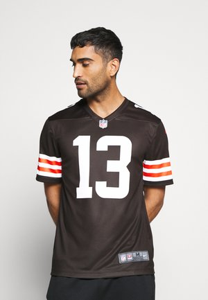 NFL CLEVELAND BROWNS ODELL BECKHAM JR LEGEND TEAM COLOUR - Klubtrøjer - seal brown