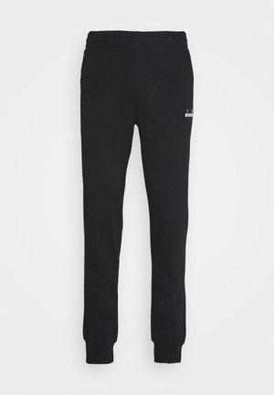 CUFF PANTS CORE LIGHT - Pantalones deportivos - black