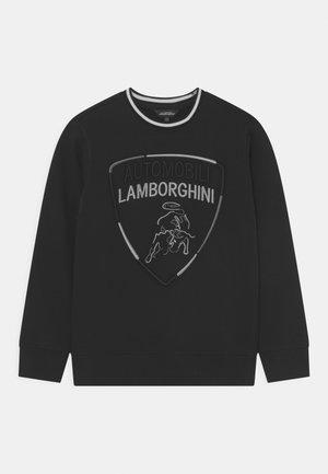 MULTICOLOUR SHIELD - Sweatshirt - black