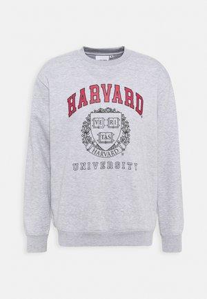 HARVARD UNI - Sweatshirt - grey marl