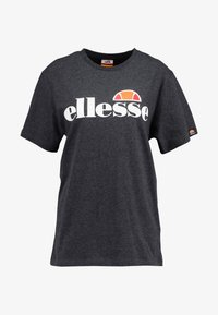 Ellesse - ALBANY - T-shirt z nadrukiem - dark grey marl - 3