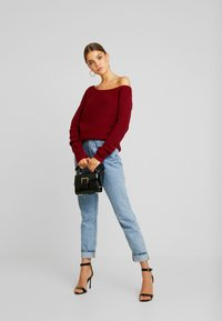 Even&Odd - Jumper - bordeaux - 1