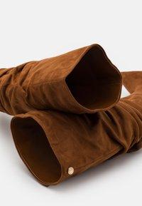 Steve Madden - VLOUCH - High heeled boots - cognac - 5