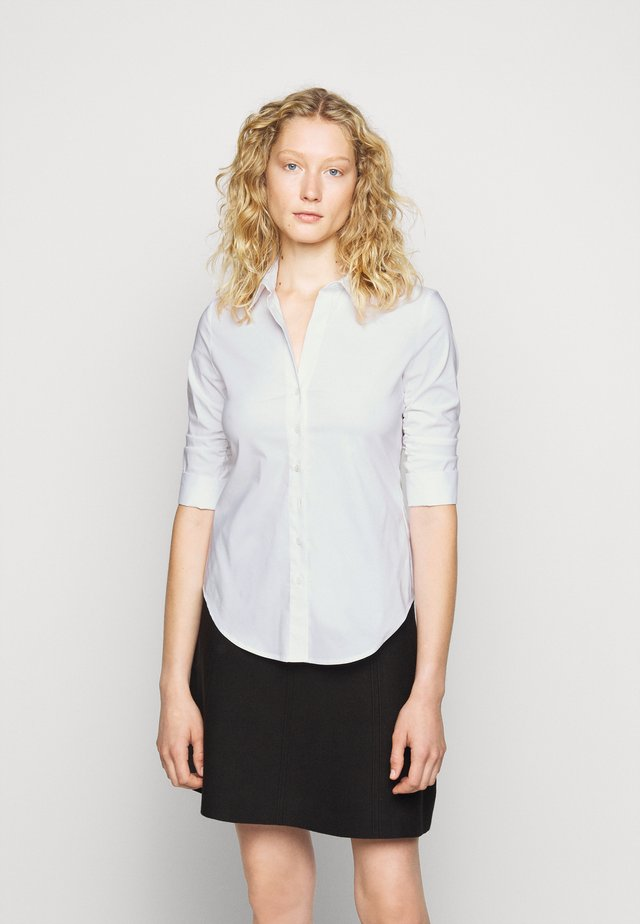THE ESSENTIAL BLOUSE - Camisa - white