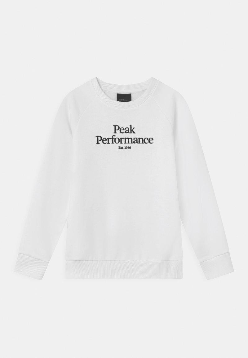 Peak Performance - JR ORIGINAL CREW UNISEX - Mikina - white
