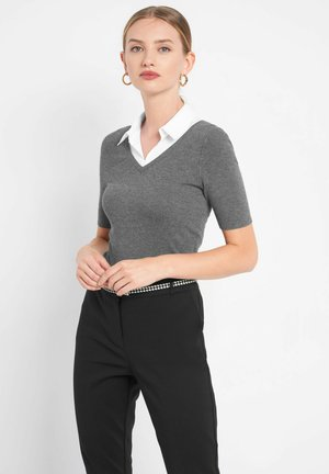 BUSINESS - Bluse - grau