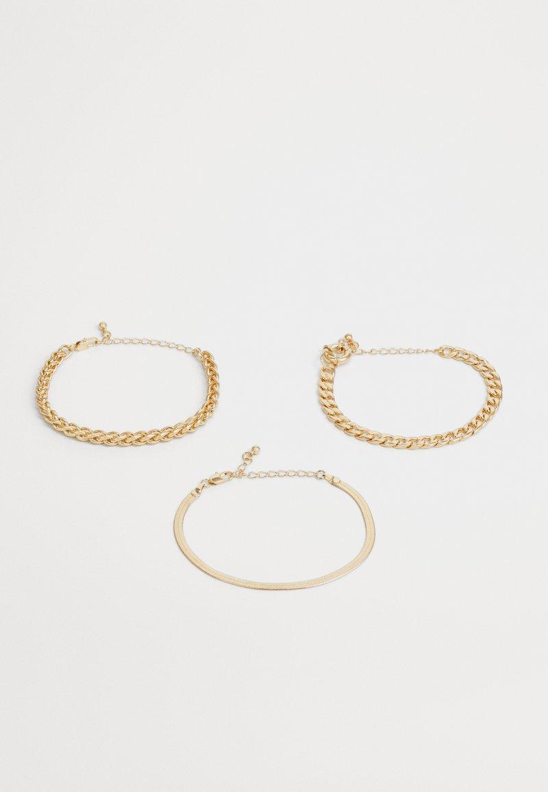 Pieces - PCKAMELIA BRACELETS 3 PACK - Bracelet - gold-coloured