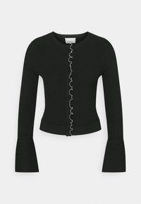 CARDIGAN TULIP - Cardigan - black