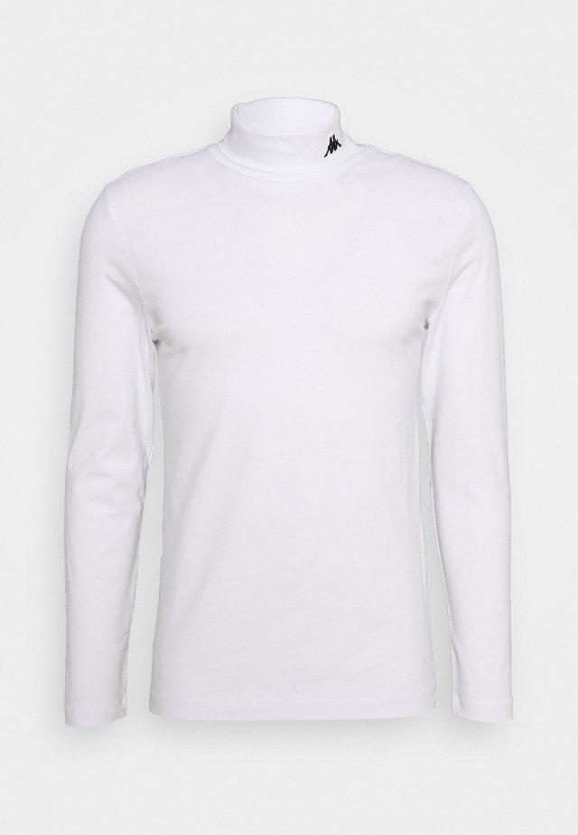 HAIO LONGSLEEVE - Long sleeved top - bright white