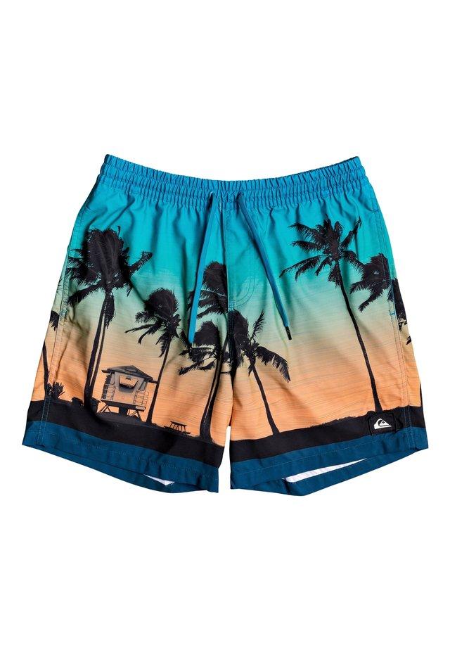 "QUIKSILVER™ PARADISE 17"" - SCHWIMMSHORTS FÜR MÄNNER EQYJV03590 - Shorts da mare - majolica blue"