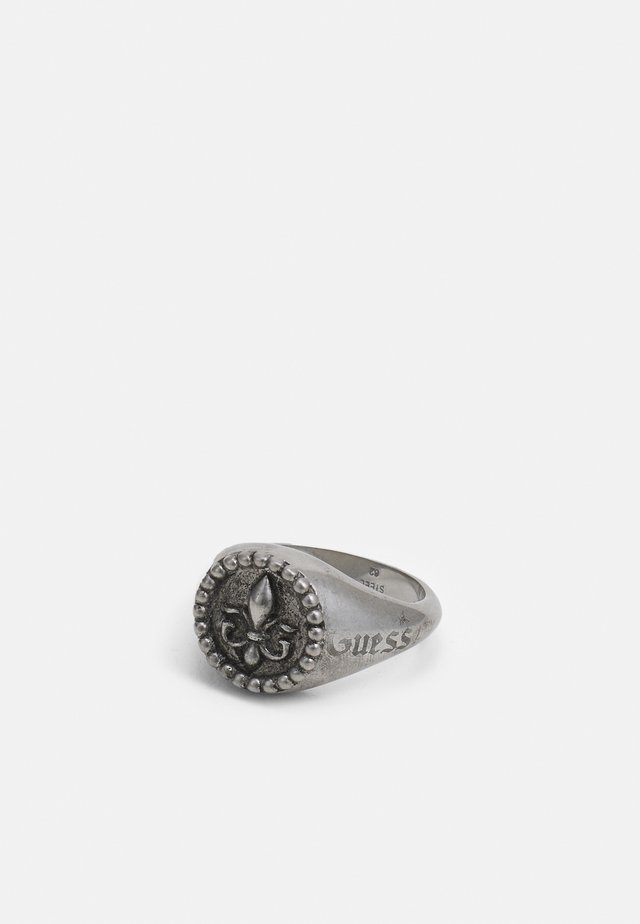 ROUND SIGNET GIGLIO - Bague - antique silver-coloured