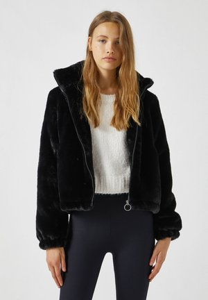 Winter jacket - mottled black