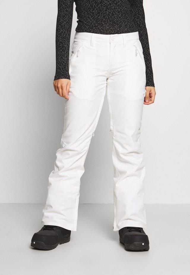 SOCIETY STOUT - Pantalon de ski - stout white