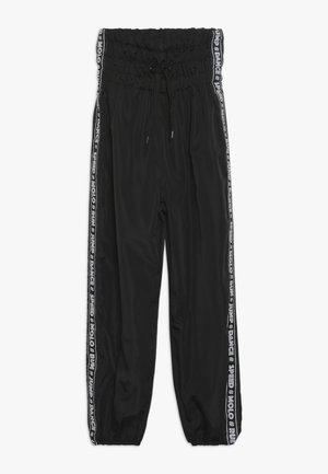 ODINA - Teplákové kalhoty - black