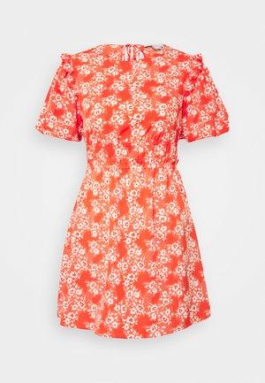 PUFF - Denní šaty - red