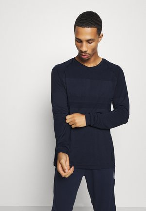 JCOZLS SEAMLESS TEE - Long sleeved top - navy blazer