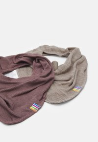 Joha - SCARF 2 PACK - Sjaal - berry/mottled light brown - 1